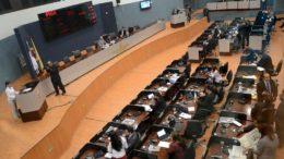 Plenário da Câmara Municipal na legislatura passada (Foto: Tiago Correa/CMM)