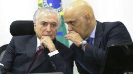 Temer e Alexandre de Moraes (Foto: Marcelo Camargo/ABr)