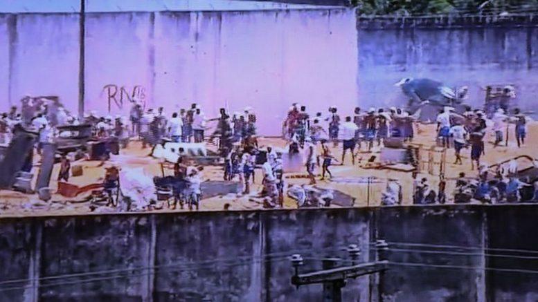 Alcaçuz (Foto: Reprodução de TV)