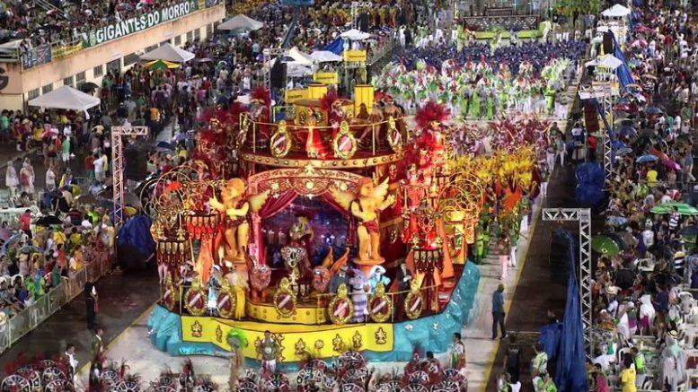 Aparecida carnaval (Foto: YouTube/Reprodução)