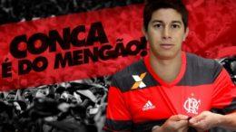 Conca (Foto: Flamengo.com/Divulgação)