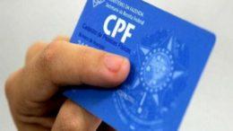 CPF (Foto: ABr/Agência Brasil)