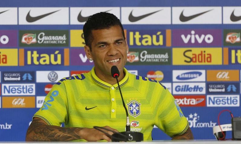 Daniel Alves (Foto: Rafael Ribeiro/CBF)