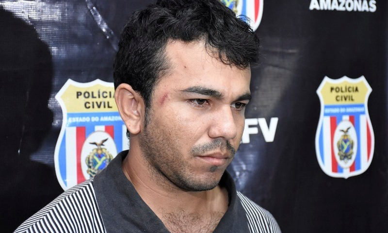 Daniel de Oliveira Batista estava escondido em casa quando foi preso pela Polícia Civil (Foto: Divulgação/PC)