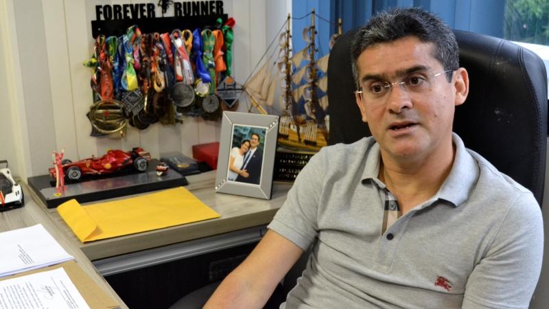 David Almeida assume o cargo de presidente da ALE nesta quarta-feira, 1° de fevereiro (Fotos: Valmir Lima)