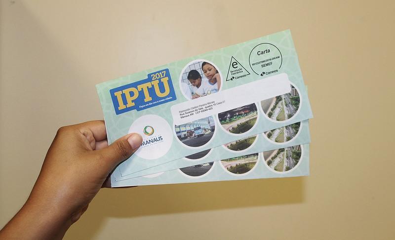 IPTU 2017 (Foto: Semef/Divulgação)