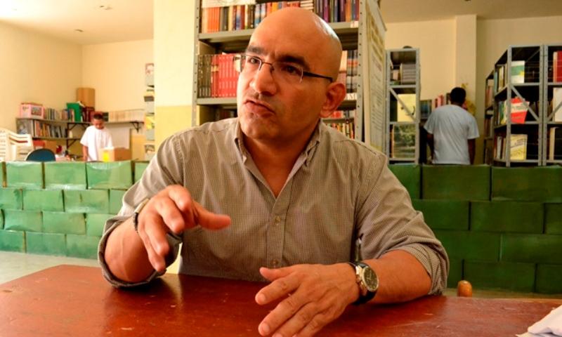 Luiz Carlos Valois relata o que viu no presídio e como negociou com os presos (Foto: Valmir Lima/Arquivo)