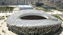 Estádio Ninho do Pássaro é o maior palco do futebol chinês, que agora terá número de estrangeiros limitados por partida (Foto: Fifa/Divulgação)