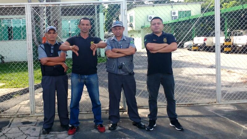 Trabalhadores estão há quase três meses sem receber salário e empresa diz que Incra não paga contrato (Foto: Divulgação/Sidevam)