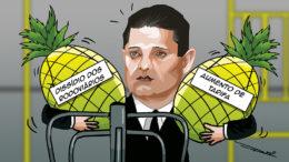 descascando abacaxi