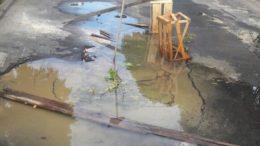 Buraco água Kíssia (Foto: Divulgação)