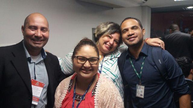 Charles Fernandes,Larissa Pacheco,Larissa França e Paulo Bahia