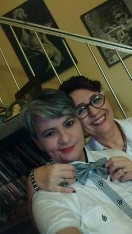 Clauida Pereira e Juçara Menezes