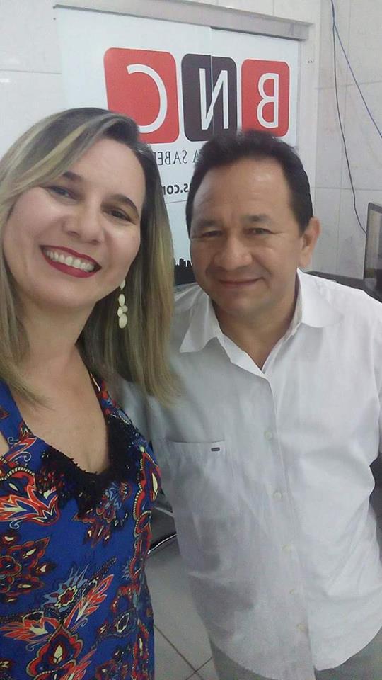 Cristina Magda e Neuton Correa