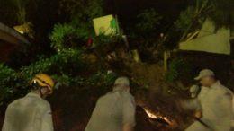 Deslizamento Manacapuru (Foto: Bombeiros/Divulgação)