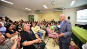 Governador José Melo fez discurso de conciliação em evento de gestores estaduais (Foto: Bruno Zanardo/Secom)