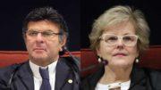 Luiz Fux e Rosa Weber vão decidir se os partidos investigados na Lata Jato devem ser extintos (Fotos: STF/Divulgação)