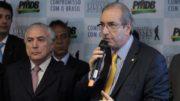 Em depoimento, Eduardo Cunha cita o presidente Michel Temer e o senador Eduardo Braga como negociadores influentes na escolha de nomes para ocupar cargos de direção na Petrobras (Foto: PMDB/Divulgação)