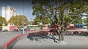 Praça Eldorado mureta 1