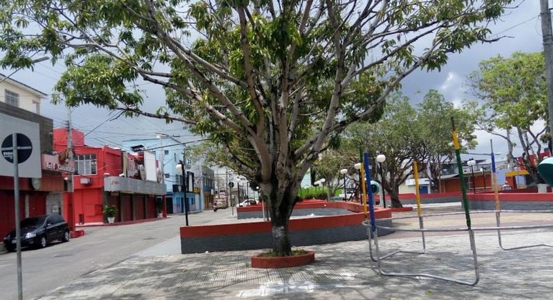 Praça Eldorado (Foto: Google/Reprodução)