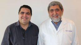 Sylvio Puga e Jacob Cohen, candidatos a reitor e vice-reitor da Ufam (Foto: Divulgação)