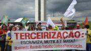 Terceirização (Foto: Wilson Dias/ABr)
