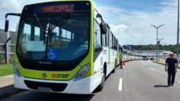 Ônibus novos (Foto: Valmir Lima)
