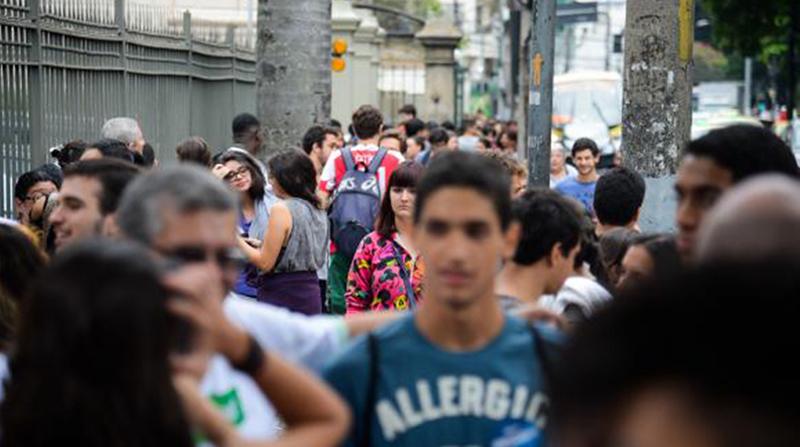 Pesquisa Ibope mostra que maioria do eleitorado jovem se identifica com o candidato do PSL  (Foto: Tomaz Silva/ABr)