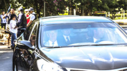 Brasília: Ex-presidente Lula chega à Justiça Federal, em Brasília, para prestar depoimento. (Marcelo Camargo/Agência Brasil)