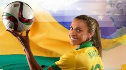 Marta jogadora da Seleção (Foto: Facebook/Reprodução)