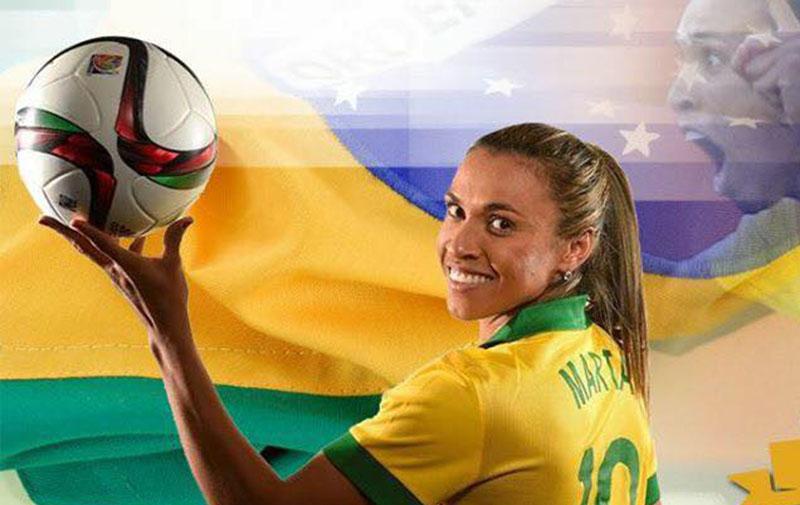 Marta ganha prêmio de melhor do mundo pela 6ª vez e bate recorde