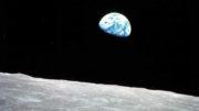 Terra vista da Lua (Foto: NASA/Divulgação)
