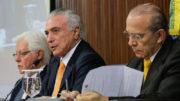 Os pedidos de abertura de inquérito devem atingir ministros de Estado, como Eliseu Padilha (Casa Civil) e Moreira Franco (Foto:(Secretaria-Geral da Presidência) (Foto: Planalto/Divulgação)