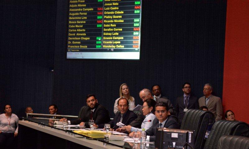 O presidente da ALE, David Almeida, é o alvo do Mandado de Segurança impetrado pela OAB e parlamentares (Foto: Hudson Fonseca/ALE)