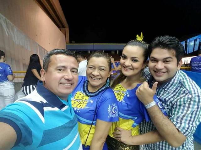 Adriano Augusto, Nathália Andrade, Marilza Mascarenhas e Bruno Fonseca