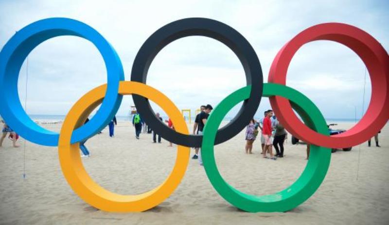 Arcos olimpícos (Foto: Tomaz Silva/ABr)