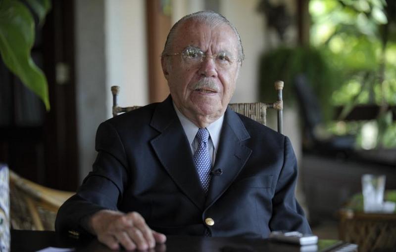 José Sarney (Foto: Jefferson Rudy/Agência Senado)