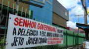 Moradores cobram a reativação do Jovem Cidadão, de uma escola e do funcionamento da delegacia 24 horas (Foto: Valmir Lima)