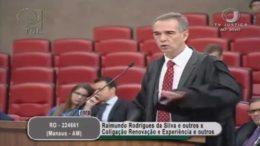 Marcelo Ribeiro, advogado de José Melo, diz que cassação foi feita com base em matéria do Fantástico (Foto: Reprodução)