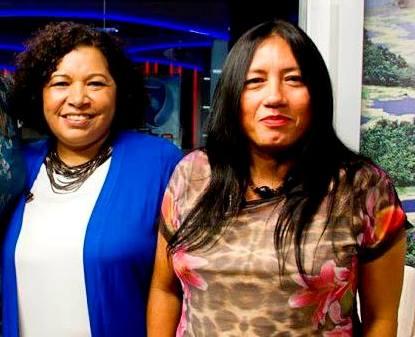 Katia Barsil e Elaize Farias