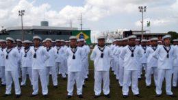 Marinheiros (Foto: Marinha do Brasil/Divulgação)