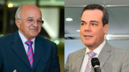 O governador José Melo e o vice-governador Henrique Oliveira tentam escapar da cassação no TSE (Foto: Divulgação)