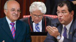 Relator do recurso de José Melo no TRE surpreendeu a defesa de Eduardo Braga com voto no TSE (Fotos: Divulgação)