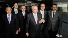 Mesmo em meio à crise, Michel Temer libera emendas em troca de apoio no Congresso (Foto: Marcos Oliveira/Agência Senado)