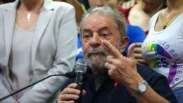 São Paulo 04/04/2016-  Ex-Presidente Lula, durante entrevista a imprensa na sede do PT Nacional.  (Foto: Paulo Pinto/Fotos Públicas)