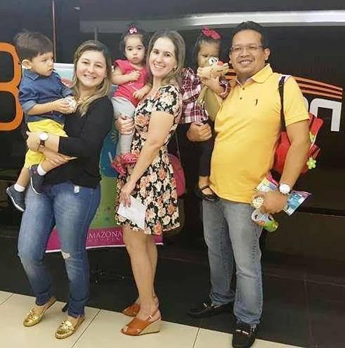 RENATA FONSECA, ELENDREA CAVALVANTE E ELVIS CHAVES