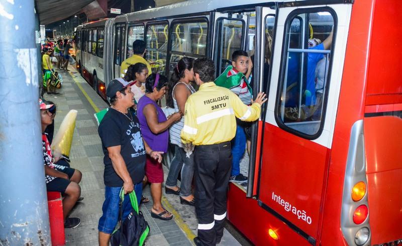 SMTU ônibus (Foto: Semcom/Divulgação)