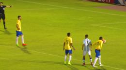 Seleção pênalti (Foto: CBF TV/Reprodução)