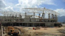 Rio de Janeiro- RJ- Brasil- 24/03/2015- O Parque Olímpico da Barra, zona oeste do Rio, será palco das competições de 16 modalidades Olímpicas. As obras estão aceleradas faltando 500 dias para os jogos. (Tomaz Silva/Agência Brasil)