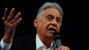 Fernando Henrique Cardoso defende que sejam convocadas novas eleições, somente daqui há nove meses (Foto: Tânia Rêgo/ABr)